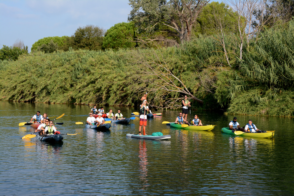 Prêt de kayak et paddle pour le World Clean Up Day de l'Ecolodge