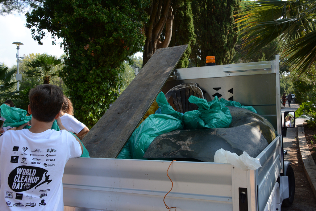 Bilan du World Clean Up Day de l'Ecolodge