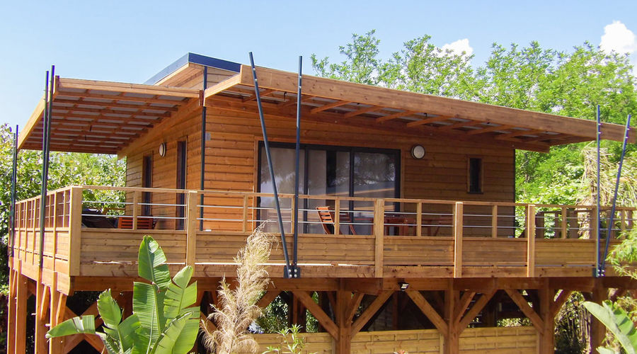 Camping South Of France Ecolodge Etoile Dargens Frejus