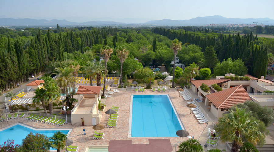 The 4-star Etoile d'Argens Ecolodge Camping-site: the aquatic areas